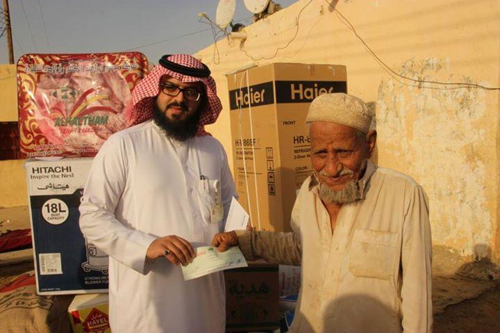 جمعية البر بأبها تتفاعل مع فديو فقير محايل عسير